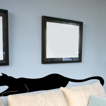 "Black Panther Vinyl Wall Decal 18""x72"""