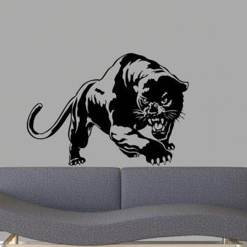 "Black Panther 2 Vinyl Wall Decal 23""x33"""
